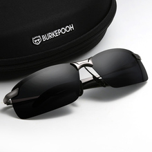 司机眼ch开车专用夜tu两用太阳镜男智能感光变色偏光驾驶墨镜