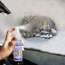 日本防雾剂汽车挡ch5玻璃车窗tu内用长效去雾神器防起雾