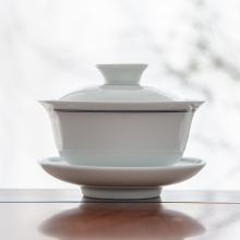 永利汇ch景德镇手绘tu碗三才茶碗功夫茶杯泡茶器茶具杯