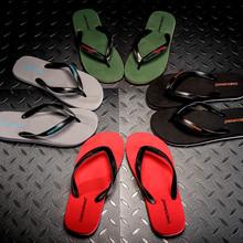 的字拖ch夏季韩款潮ue拖鞋男时尚外穿夹脚沙滩男士室外凉拖鞋
