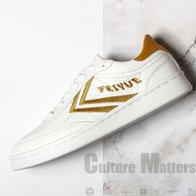 CM国ch大孚飞跃fisue男女休闲鞋超纤皮运动板鞋情侣(小)白鞋7010