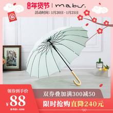 日本进口品牌Mach5u长柄伞is伞晴雨伞遮阳伞太阳伞男女商务伞