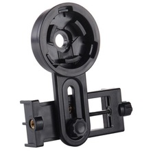 新式万ch通用单筒望tu机夹子多功能可调节望远镜拍照夹望远镜