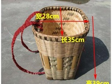 沙发大ch四川垫背篼ia胶塑料背篓背篓加大大号竹靠背长型