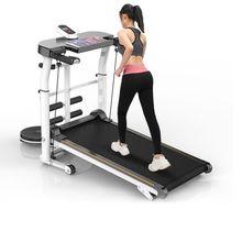 乐届跑ch机家用式(小)an健身器材多功能机械折叠家庭走步机