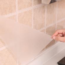 日本厨ch灶台面用耐ai水铝箔自粘瓷砖墙贴橱柜防潮垫