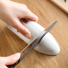 日本ch口家用磨刀ui 创意剪刀磨刀棒 厨房磨菜刀工具