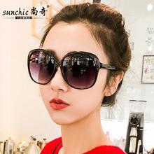 墨镜女ci 网红太阳75圆脸复古眼镜大框时尚个性遮阳镜经典韩款