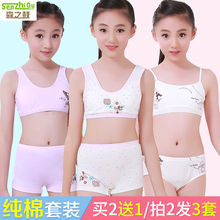 女童发育期文胸儿童内衣小