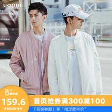 UOOciE男士夹克in  2019秋装新式日系嘻哈潮流百搭轻潮