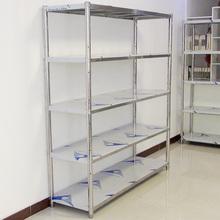 落地不ci钢家用微波da多功能自由组合置物架五层收纳仓储架子