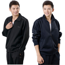 [cinveda]南韩丝运动套装男加肥加大
