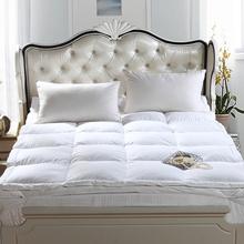 希尔顿五星级ci3店羽绒床je软专用软垫宾馆1.8m米超柔软家用