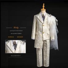 童西装模特走秀礼服时装套