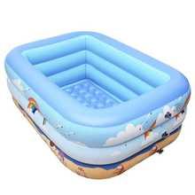 母婴室ci游泳池光滑da垫充气洗澡盆加厚环保婴儿打气泵戏水池