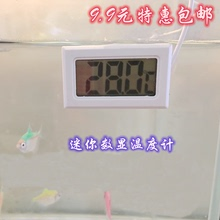 鱼缸数cj温度计水族kn子温度计数显水温计冰箱龟婴儿