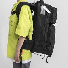 双肩背包大容量超大cj6旅行包电lw户外登山战术包潮流大背包
