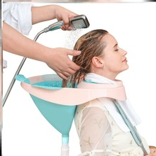 病的器cl床洗澡懒的ff理盆架孕妇平躺加厚坐式洗发瘫。