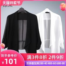 [closdelgos]薄款披肩小外套女短款白色