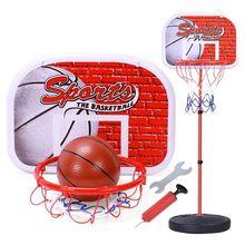 (小)孩家cl可升降室内wn男孩篮球板幼儿宝宝可投篮筐