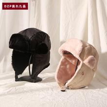 韩版DZP户外羽绒男女帽