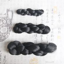 古装包cm式麻花发包lp宝宝汉服常用贵妃仙女发髻丫鬟COS