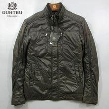 欧d系co品牌男装折ch季休闲青年男时尚商务棉衣男式保暖外套