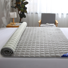 罗兰软co薄式家用保pl滑薄床褥子垫被可水洗床褥垫子被褥