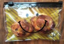 出口1co个(小)号食品pu水密封袋防潮保鲜袋拉扣密实袋