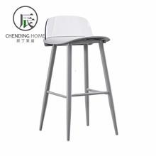 铁艺吧椅透明靠背高脚凳现