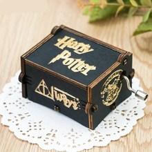 手摇发条飞歌音乐盒唱co7会响的八co送死党玩具毕业礼物木质