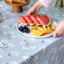 防水防co防烫免洗餐or艺北欧ins桌布棉麻长方形茶几台布定制
