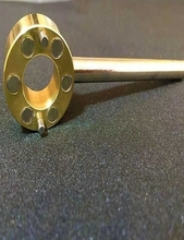 自来水co门钥匙水表ex角形阀扳手锁闭阀家用磁性万能开关(小)。