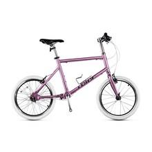 (小)轮径co0寸无链条ta双V刹城市休闲(小)跑车轴传动自行车