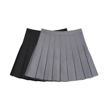 VEGA CcoANG百褶al021春装新款bm风约会裙子高腰半身裙