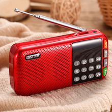 先科随co听音响便携al能插卡家用充电音乐播放器