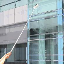 长杆伸cq擦玻璃器双uz器玻璃刮水器搽玻璃刷清洁工具清洗窗户