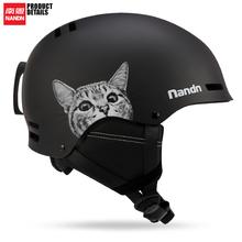 南恩NANDN19/20cr9式滑雪头ig滑雪装备护具男女保暖防撞雪盔