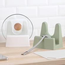 纳川创意厨房cr品塑料锅盖at置物架收纳架子菜板架锅盖座