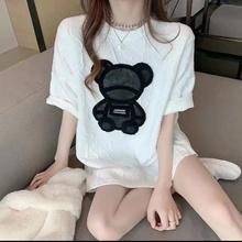 蕾蕾穿cr服饰店蕾蕾13国泡泡绵(小)熊T��