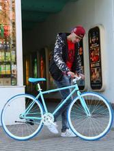 单车自行车24cr死飞实心胎nc款男孩女孩(小)型女士竞速公路赛