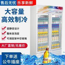 鲜肉酒cu柜蔬菜便利98饮料展示柜立式冰箱风冷台式立式