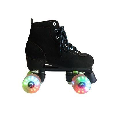 溜冰鞋成人双排四轮闪光旱