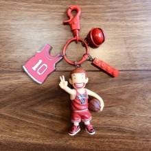 日本卡通篮cu2公仔书包ce生钥匙扣创意简约diy个性汽车挂饰