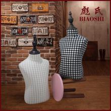 彪氏高cv现代中式升kt道具童装展示的台衣架(小)孩模特