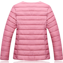中年女cw中老年大码qp穿轻薄式羽绒棉服棉袄棉衣内胆女短式