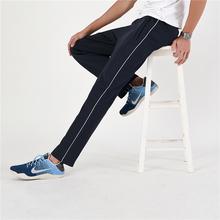 一条杠校服裤初高cy5学生校裤le薄款宽松直筒运动长裤