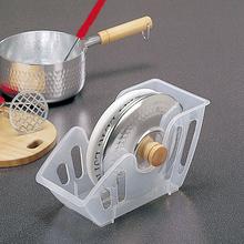 日本进cy厨房锅盖架yb纳座碗碟盘收纳整理置物架带接水盘