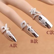 免费刻字原创设计师925纯银da11指女个dy潮时尚新网红同款
