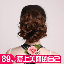 韩版假发女马尾抓夹绑带式